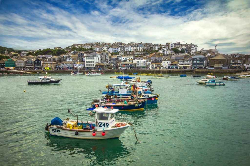 St Ives is one of the best spots for a luxury getaway in England