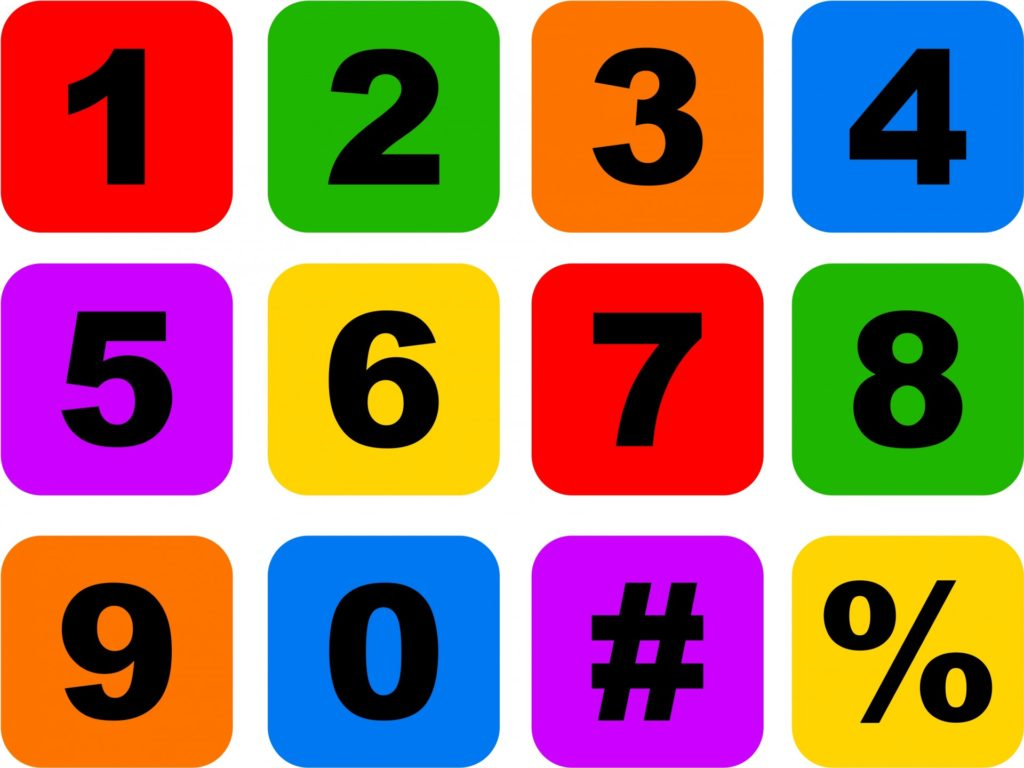 number-icons